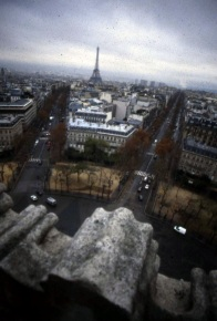 Paris - View From Arc De Triumph