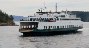 Arriving at Orcas,,,