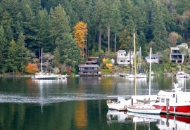 Fall on Gig Harbor waterfront