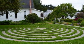 Take time to walk the labyrinth...