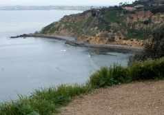 Beginning of Palos Verdes Peninsula