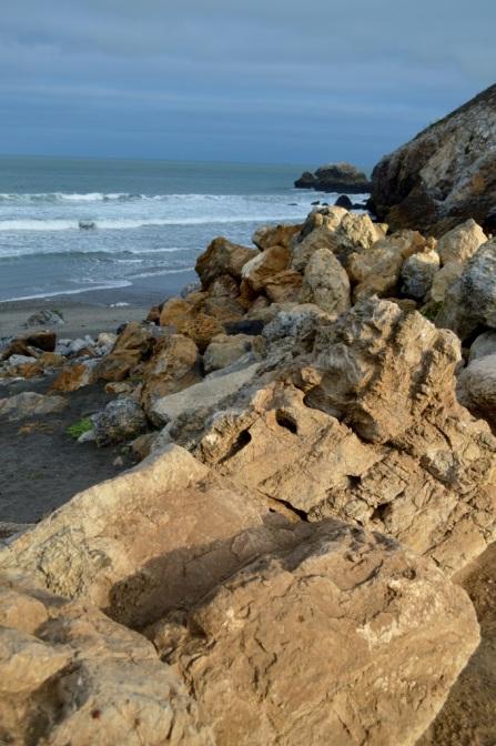 coastal rocks ..