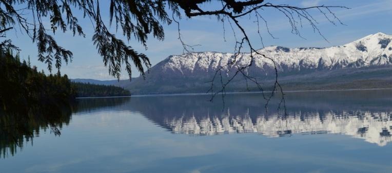 Reflections on Lake McDonald