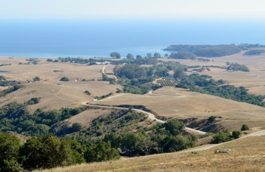 road from San Simeon to Castle