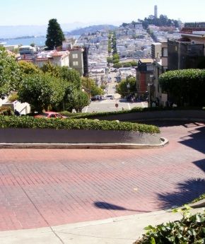 Crooked Lombard Street
