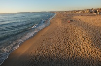 Hermosa Beach, looking north