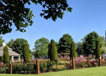 Rose Garden, Julia Davis Park