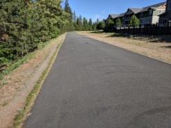 Walk along Centennial Trail