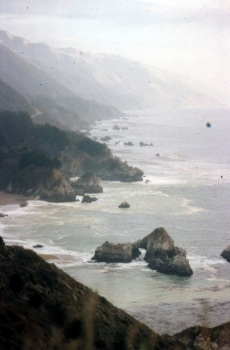 Pacific Coast_near Big Sur