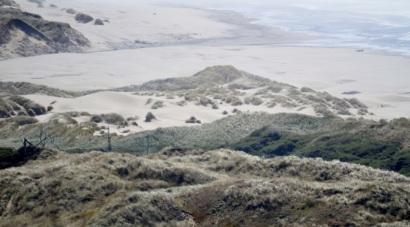 Sand dunes ...