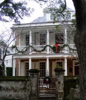 Historic area Christmas 2