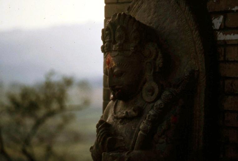 Nepal_KTM_statue
