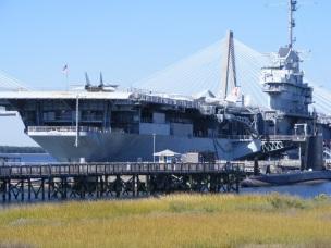 Yorktown with Ravenal Bridge in background