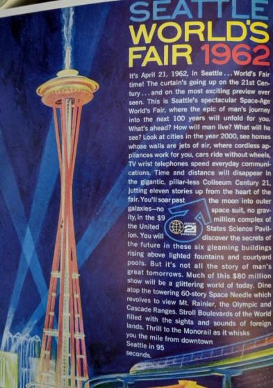 Seattle World's Fair, 1962