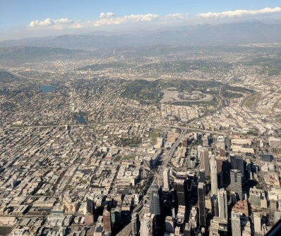 LA from the air