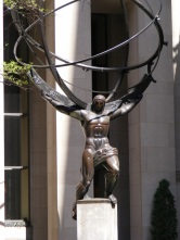 Rockefeller Center ..Atlas ... Shrugged?
