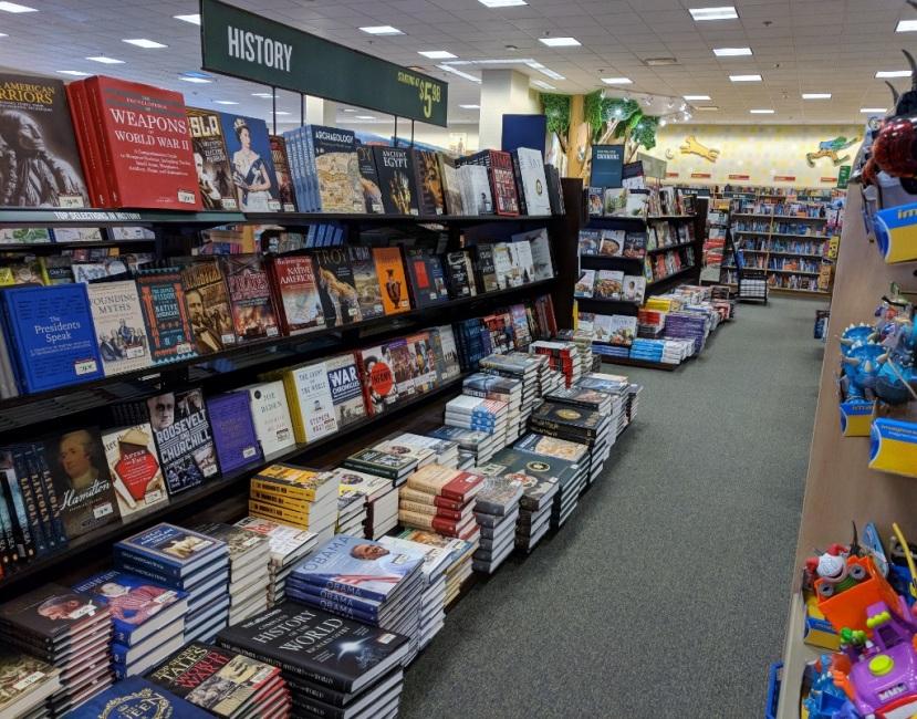 A Favorite Bookstore: Barnes & Noble, Silverdale,WA