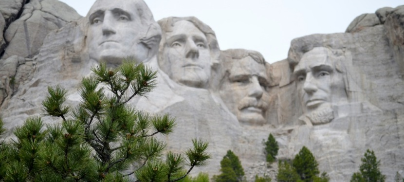 Quotes ~ By the 4 US Presidents Sculptured on Mt Rushmore ~ Photos