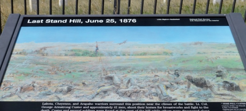 Road Trip: Western Washington to Mt Rushmore ….. Little Bighorn Battlefield National Monument, Montana