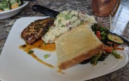 Delicious Pork Chops, Champs, Soda bread