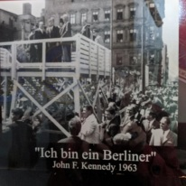 Berlin Wall Memorial ~ Pres Kennedy