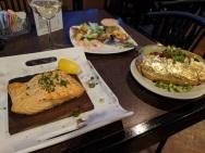 Delicious Salmon & baked potato