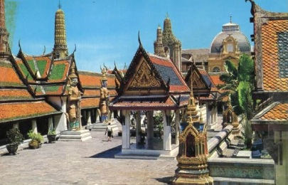 Post Card~Wat Phra Keo (Emerald Buddha Temple)