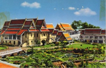 Post Card~Phu-Phing Raja-Nives Palace, Chiengmai