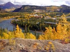 Alaska, from train
