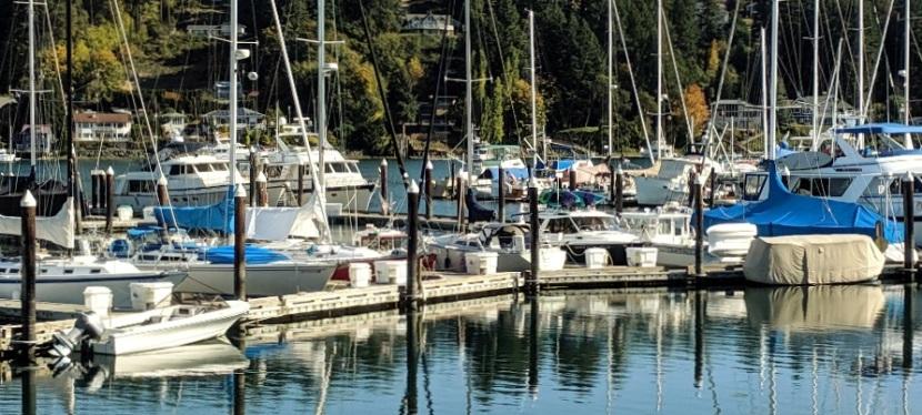 Gig Harbor, WA ~  A Beautiful FallDay
