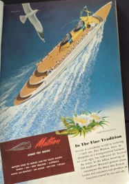 Matson Line Ad
